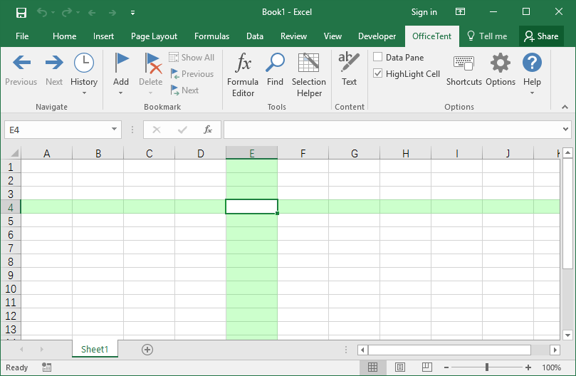 OfficeTent Excel Add-in
